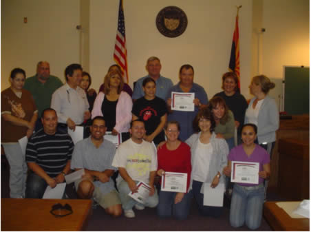 October 2006 Graduates and Instructors
