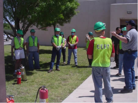 Outdoor Fire Safety Training